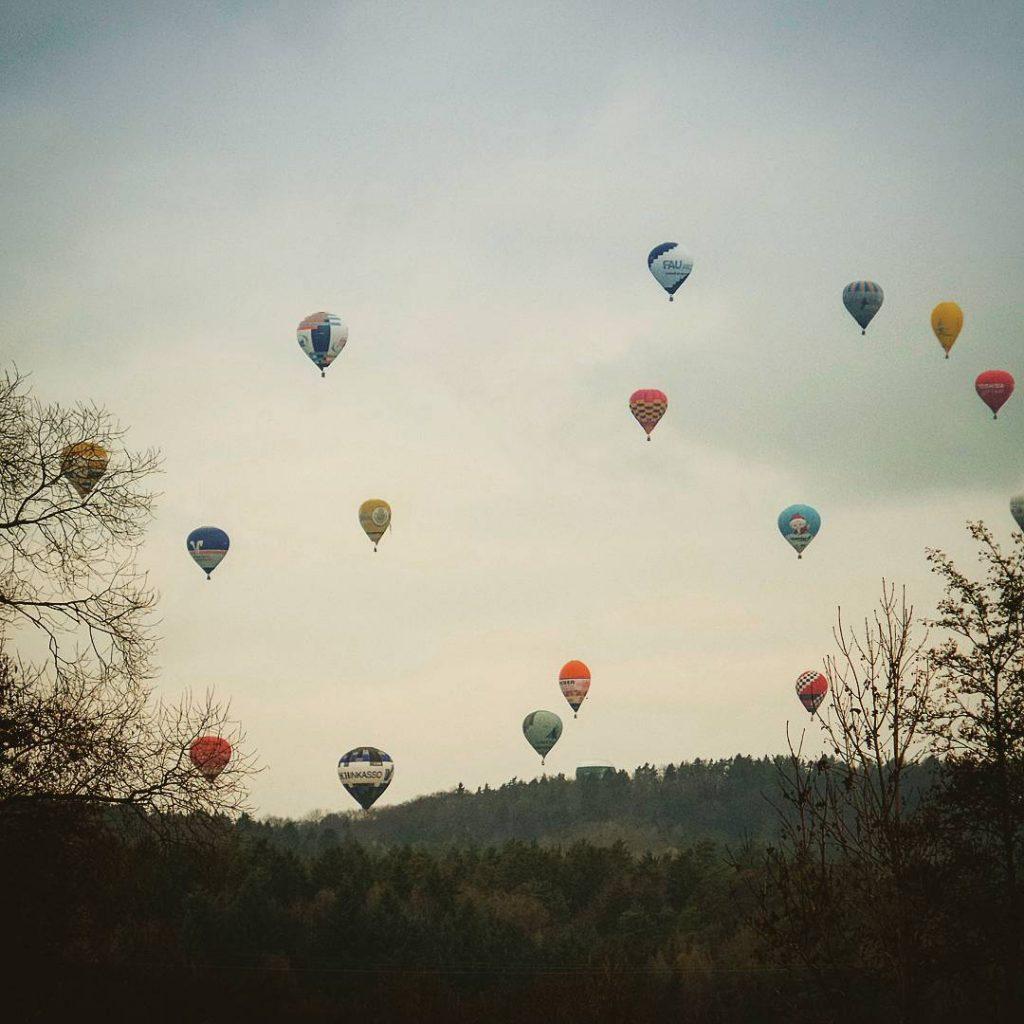 #heißluftballons #pretzfeld #einfachabheben #ballon #grenzenlos #forchheimshots