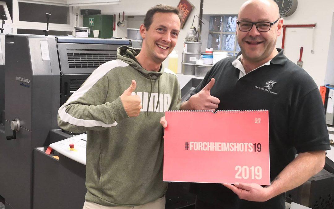 Der  #Forchheimshots18 Kalender